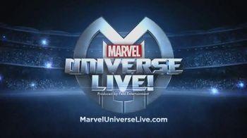 Marvel Universe Live TV Spot, 'Mission to Save the Universe'