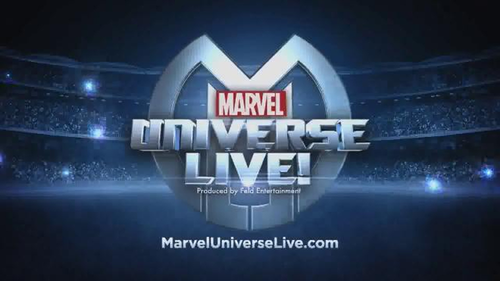 Marvel Universe Live TV Commercial, 'Mission to Save the Universe'