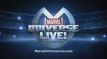 Marvel Universe Live TV Spot, 'Superheroes Come to Life'