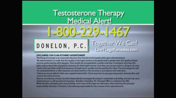 Donelon PC Low Testosterone TV Spot - Thumbnail 6
