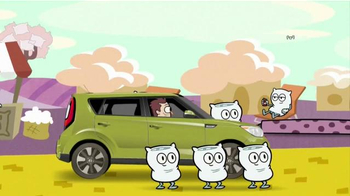 2014 Kia Soul TV Spot, 'Cartoon Network'