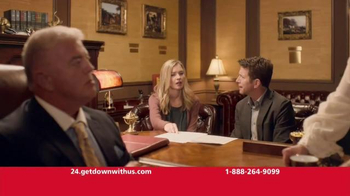 Guaranteed Rate TV Spot, \'Banker\' Featuring Ty Pennington
