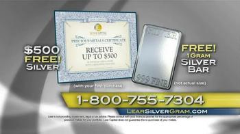 Lear Capital TV Spot, 'Demand for Silver' - Thumbnail 10