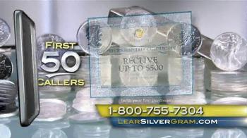 Lear Capital TV Spot, 'Demand for Silver' - Thumbnail 9
