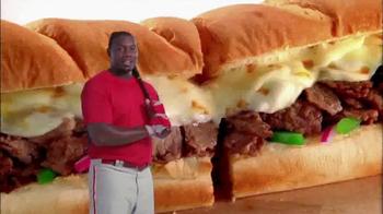 Subway Philly Cheesesteak TV Spot Featuring Ryan Howard - Thumbnail 5