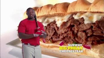Subway Philly Cheesesteak TV Spot Featuring Ryan Howard - Thumbnail 7