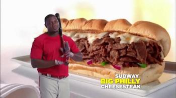 Subway Philly Cheesesteak TV Spot Featuring Ryan Howard - Thumbnail 8