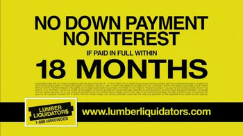 Lumber Liquidators TV Spot, 'Tax Refund' - Thumbnail 8