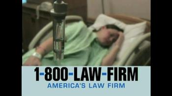 1-800-LAW-FIRM TV Spot, 'TVM' - Thumbnail 1