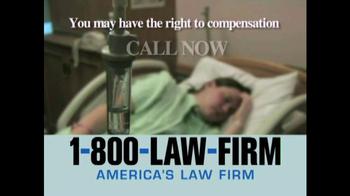 1-800-LAW-FIRM TV Spot, 'TVM' - Thumbnail 6