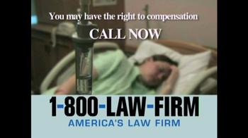 1-800-LAW-FIRM TV Spot, 'TVM' - Thumbnail 7
