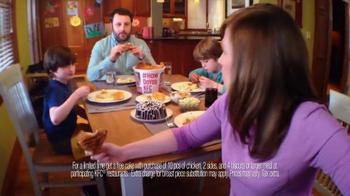 KFC 10-Piece Meal TV Spot, 'Not Cook More Often' - Thumbnail 4