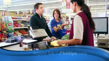 Phillips TV Spot, 'Checkout Line' - 3958 commercial airings