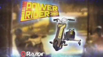 Razor Power Rider 360 TV Spot