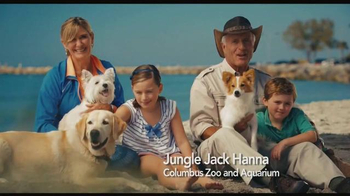 Cosequin TV Spot, 'Beach' Featuring Jack Hanna - Thumbnail 1