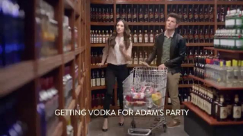 Smirnoff TV Spot 'The Store' Featuring Adam Scott and Alison Brie - 1406 commercial airings