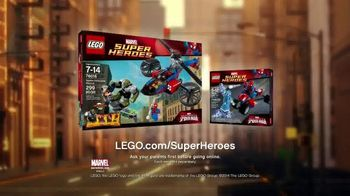 LEGO Marvel Super Heroes Spider-Helicopter TV Spot, 'Rescue'