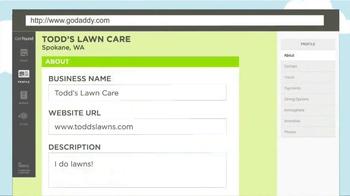 GoDaddy TV Spot, 'Todd's Lawn Care' - Thumbnail 9