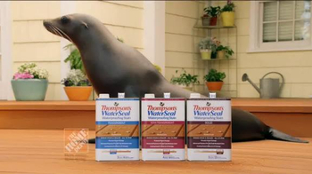Thompson's Water Seal Waterproofing Stain TV Spot, 'Seal' - Thumbnail 9