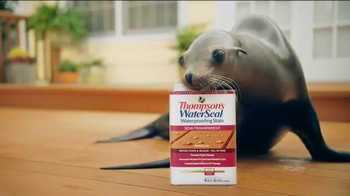 Thompson's Water Seal Waterproofing Stain TV Spot, 'Seal' - Thumbnail 5
