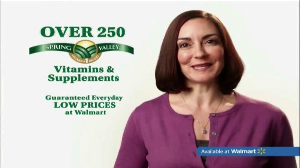 Spring Valley Vitamins TV Spot
