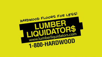 Lumber Liquidators April Sale TV Spot, 'Historic Deals' - Thumbnail 1