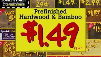Lumber Liquidators April Sale TV Spot, 'Historic Deals' - Thumbnail 6