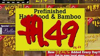 Lumber Liquidators April Sale TV Spot, 'Historic Deals' - Thumbnail 7