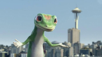 GEICO TV Spot, 'The Gecko's Journey: Seattle' - 5667 commercial airings