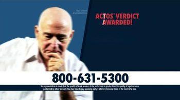 Dudley DeBosier TV Spot, 'Actos Bladder Cancer'