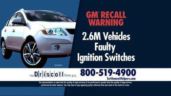 The Driscoll Firm TV Spot, 'GMC Recall' - Thumbnail 1