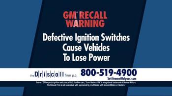 The Driscoll Firm TV Spot, 'GMC Recall' - Thumbnail 3