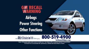 The Driscoll Firm TV Spot, 'GMC Recall' - Thumbnail 4