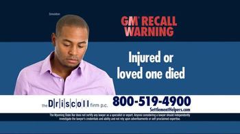 The Driscoll Firm TV Spot, 'GMC Recall' - Thumbnail 5