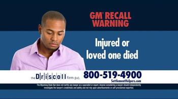 The Driscoll Firm TV Spot, 'GMC Recall' - Thumbnail 6