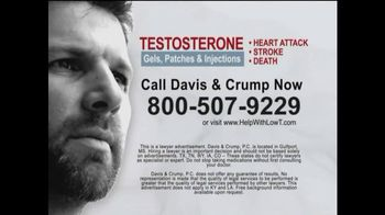 Davis & Crump, P.C. TV Spot, 'Low T'