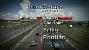Thomas J. Henry Injury Attorneys TV Spot, 'Chevrolet, Saturn and Pontiac'