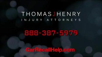 Thomas J. Henry Injury Attorneys TV Spot, 'Chevrolet, Saturn and Pontiac' - Thumbnail 6