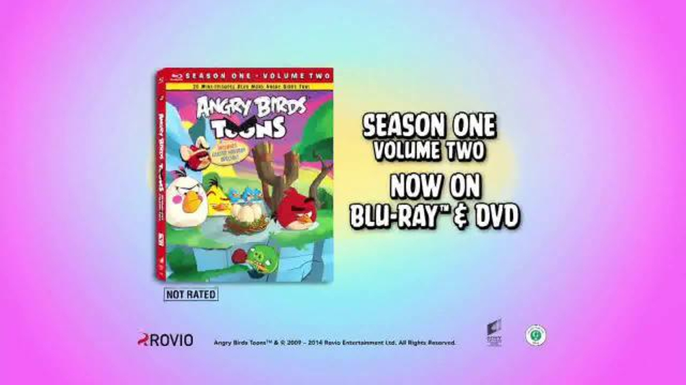 Angry Birds Season One Volume Two TV Commercial, 'Birds Are Back'