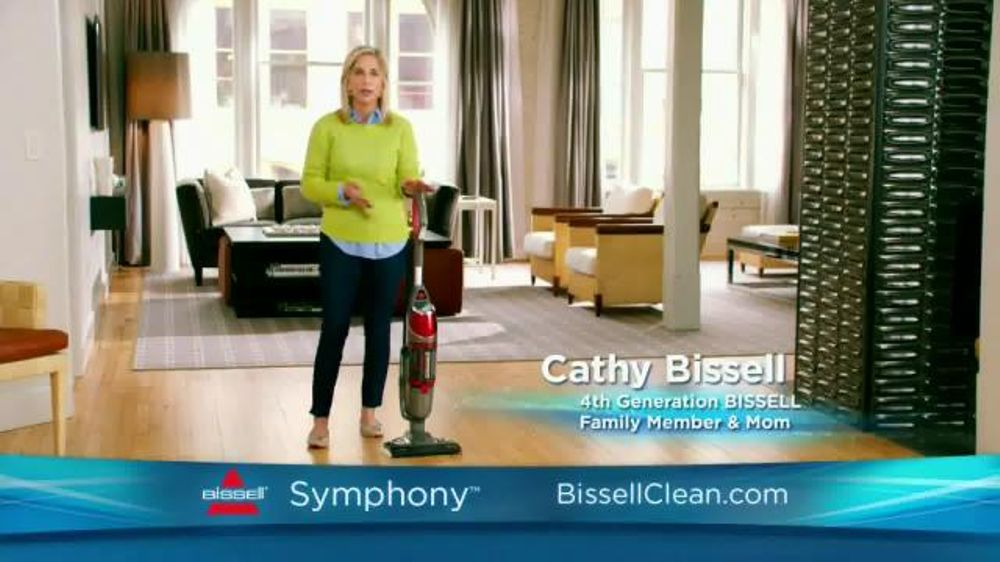Bissell Symphony TV Commercial, 'Revolutionary'