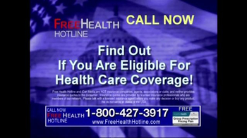 Health Hotline TV Spot, 'Healthcare Reform' - Thumbnail 10