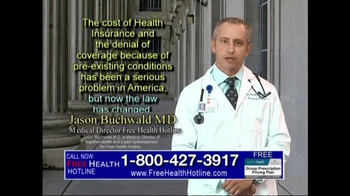 Health Hotline TV Spot, 'Healthcare Reform' - Thumbnail 5