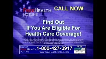 Health Hotline TV Spot, 'Healthcare Reform' - Thumbnail 9