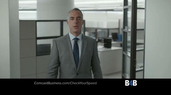 Comcast Business TV Spot, 'Check Your Speed' - Thumbnail 1