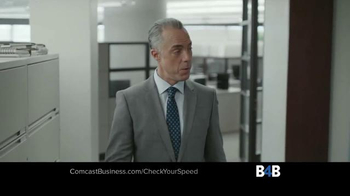 Comcast Business TV Spot, 'Check Your Speed' - Thumbnail 2