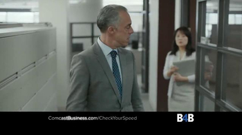 Comcast Business TV Spot, 'Check Your Speed' - Thumbnail 3