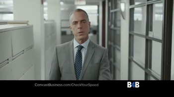 Comcast Business TV Spot, 'Check Your Speed' - Thumbnail 5
