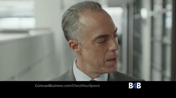 Comcast Business TV Spot, 'Check Your Speed' - Thumbnail 7