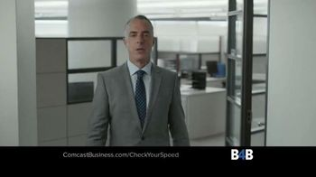 Comcast Business TV Spot, 'Check Your Speed'