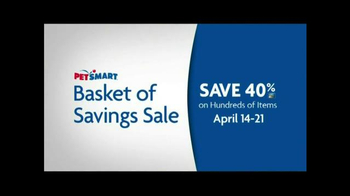 PetSmart Basket of Savings TV Spot - Thumbnail 3